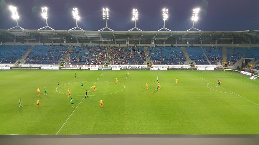 Lublin Łęczna stadion