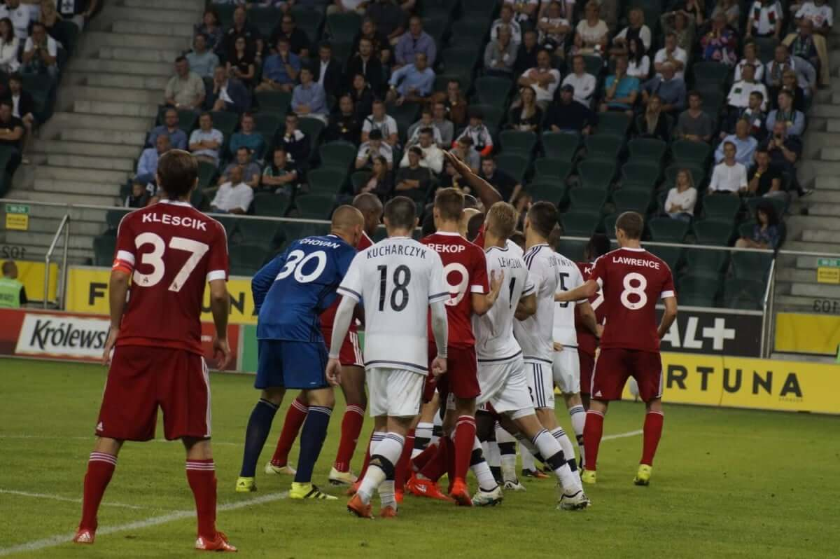 Kucharczyk walka Legia