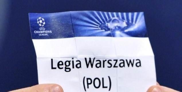 losowanie Legia Warszawa