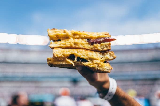 Jedzenie na stadionie