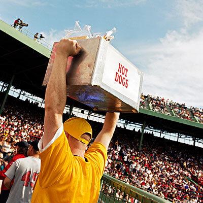 hot dogi na stadionie