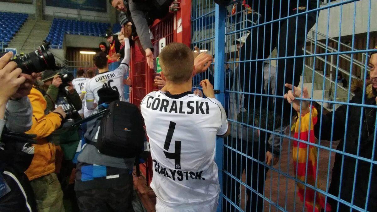 oceny zawodników Jagiellonii Jacek Góralski